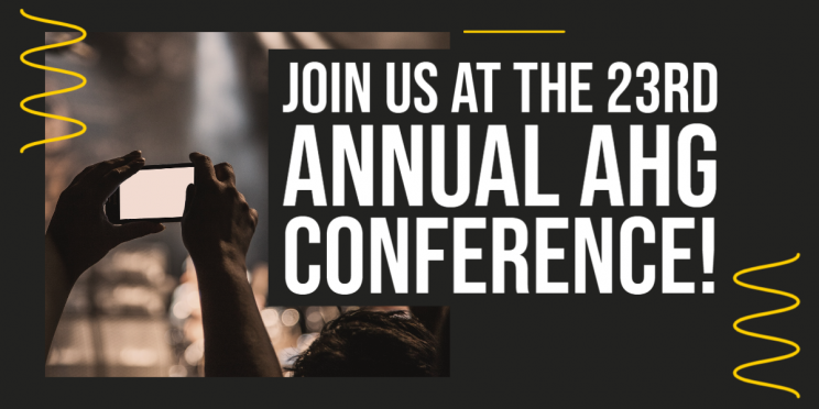 Join us at the 23rd Annual AHG Conference!