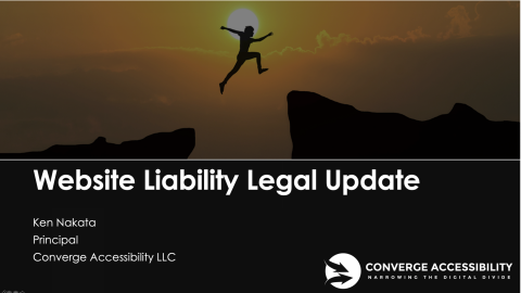 "Background Image with text, ""Website Liability Legal Update"""