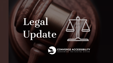 """Background Image with Text """"Legal Update"""""""